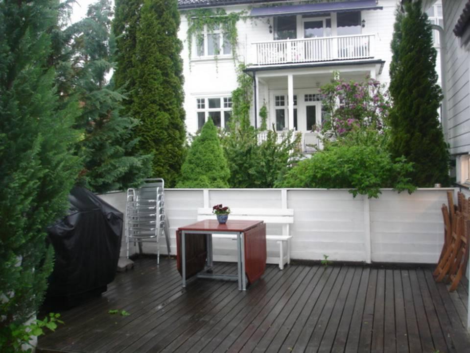 Skjerming innsyn veranda