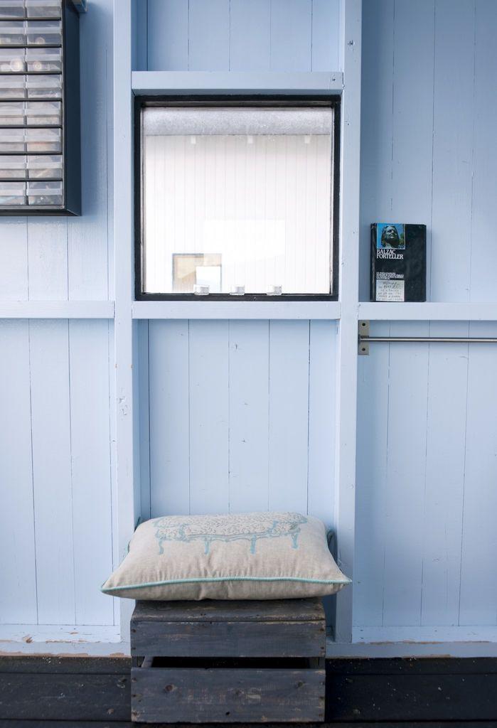 Minimalt badehus der hver millimeter er maksimalt utnyttet. Se hvordan du får et lekkert uterom på lite plass.