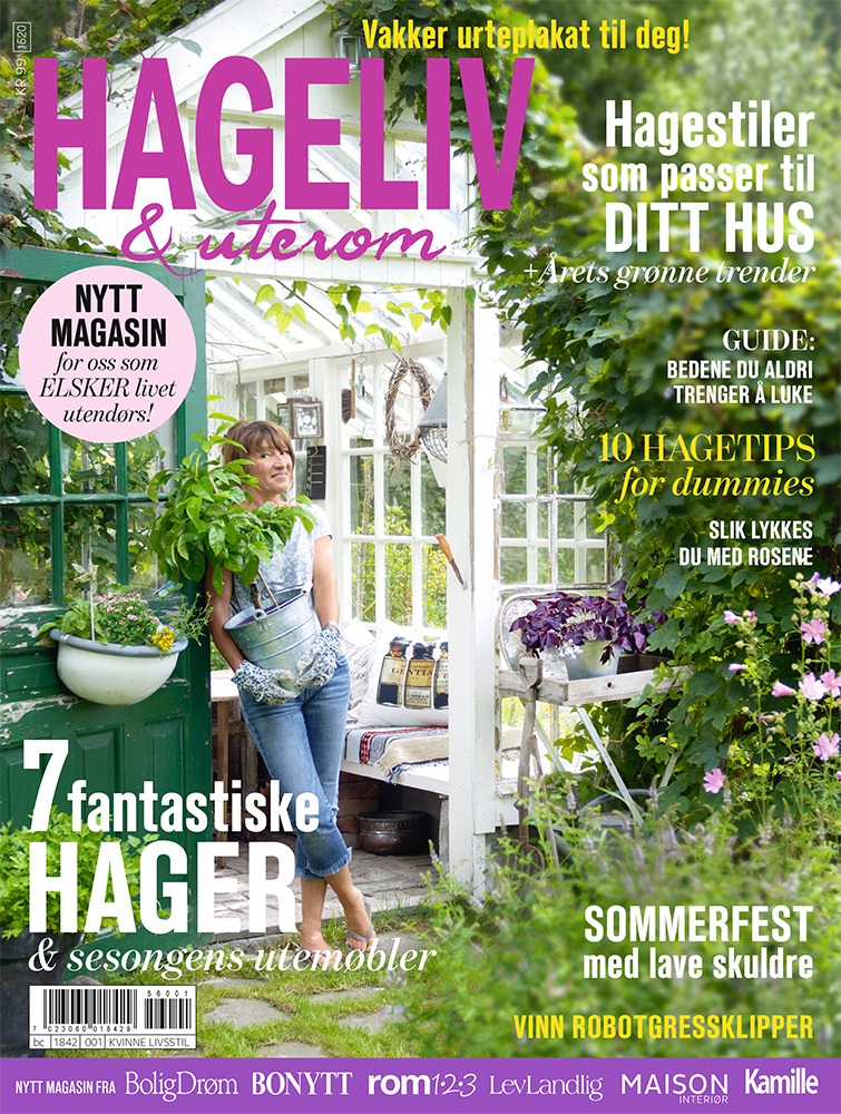 Hageliv & Uterom - et magasin fra Egmont Publishing AS.