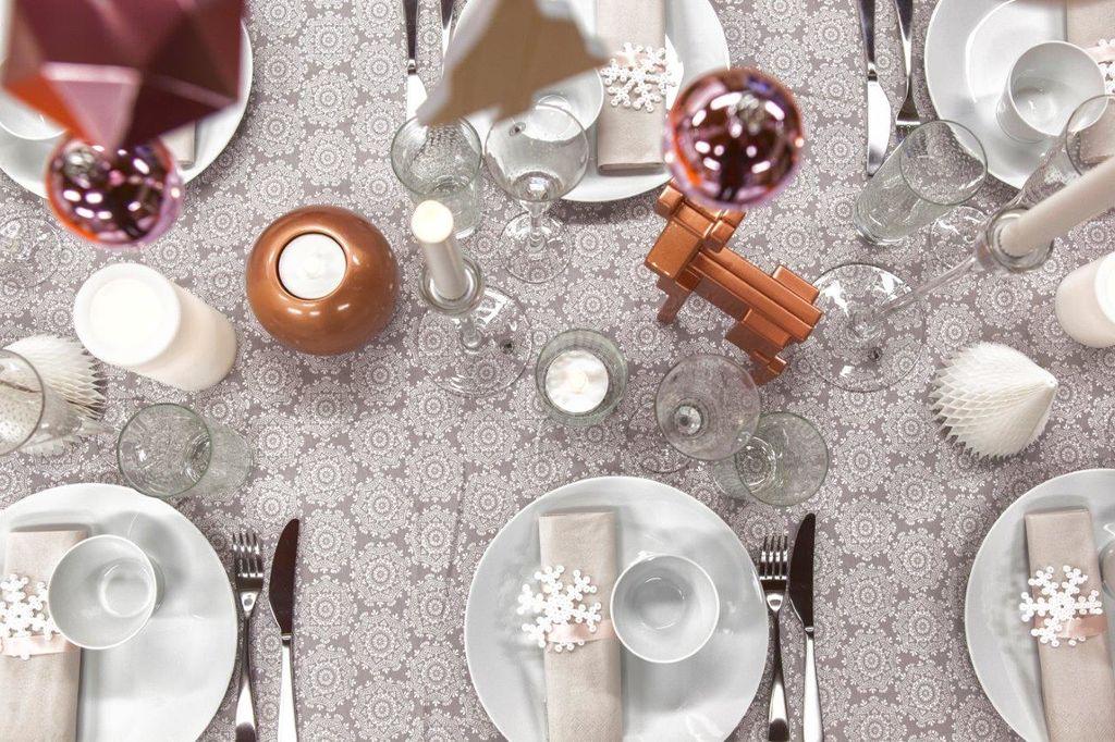 Fin inspirasjon og konkrete tips til nydelig og enkel borddekking.