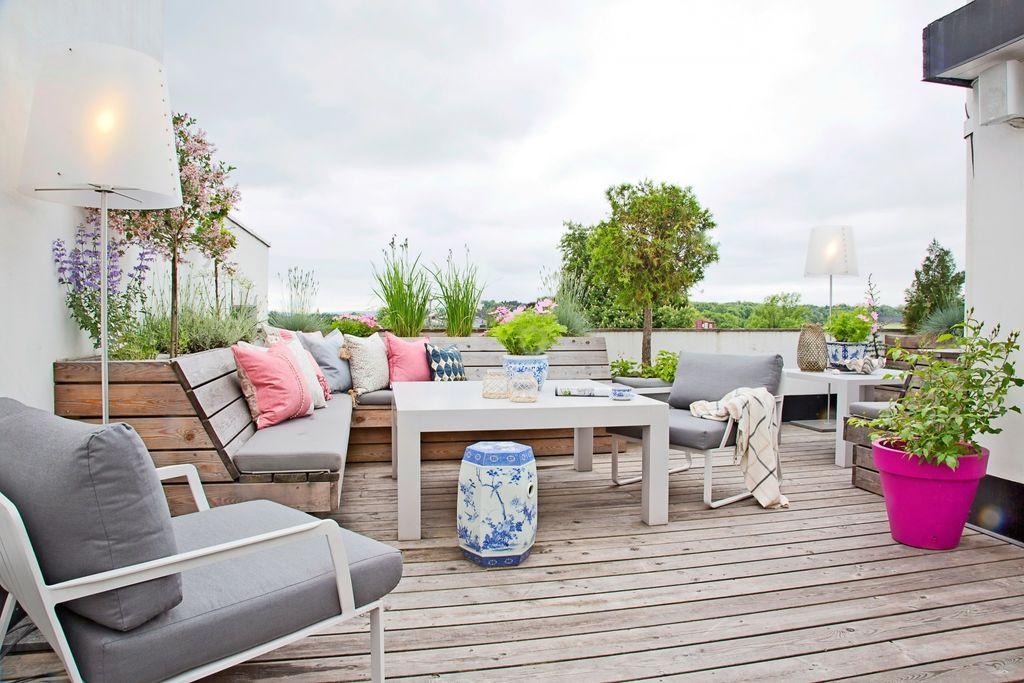 Takhager - og at vi bruker både tak og vegger og små balkonger for å lage hager, vil vi se mer av fremover. Foto: Jorunn Tharaldsen