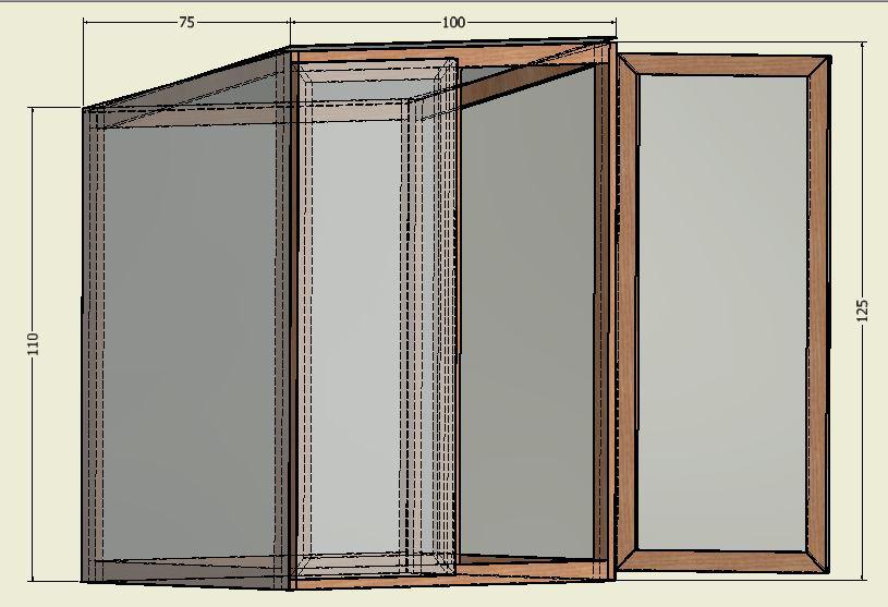 drivhustegning Tips til stell av georginer, samt ideer til å lage et drivhus-skap.