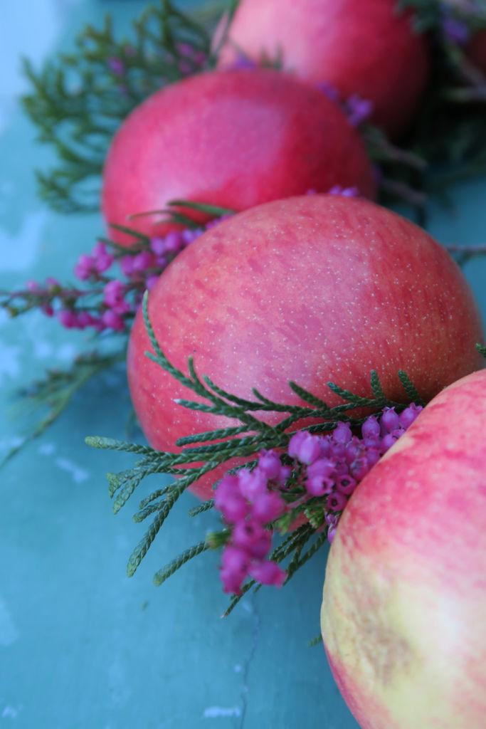 Enkle tips til hvordan du kan dekorere med epler.