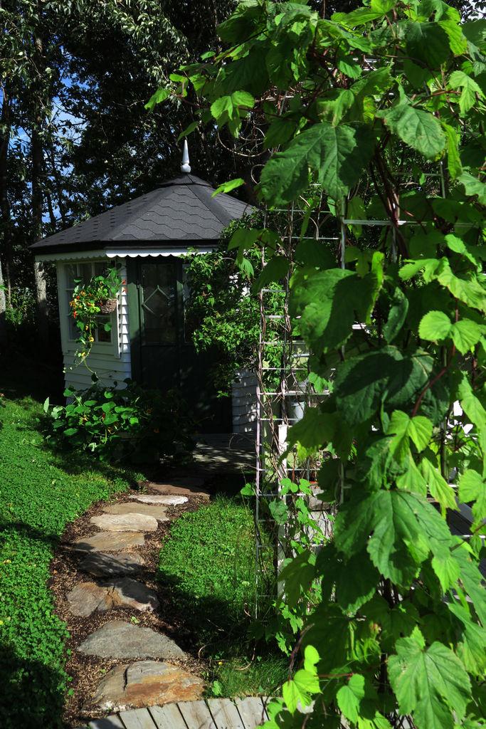 I denne saken vil du finne tips til hvordan du kan lage en enkel, men fin sti i hagen, ved hjelp av naturstein.