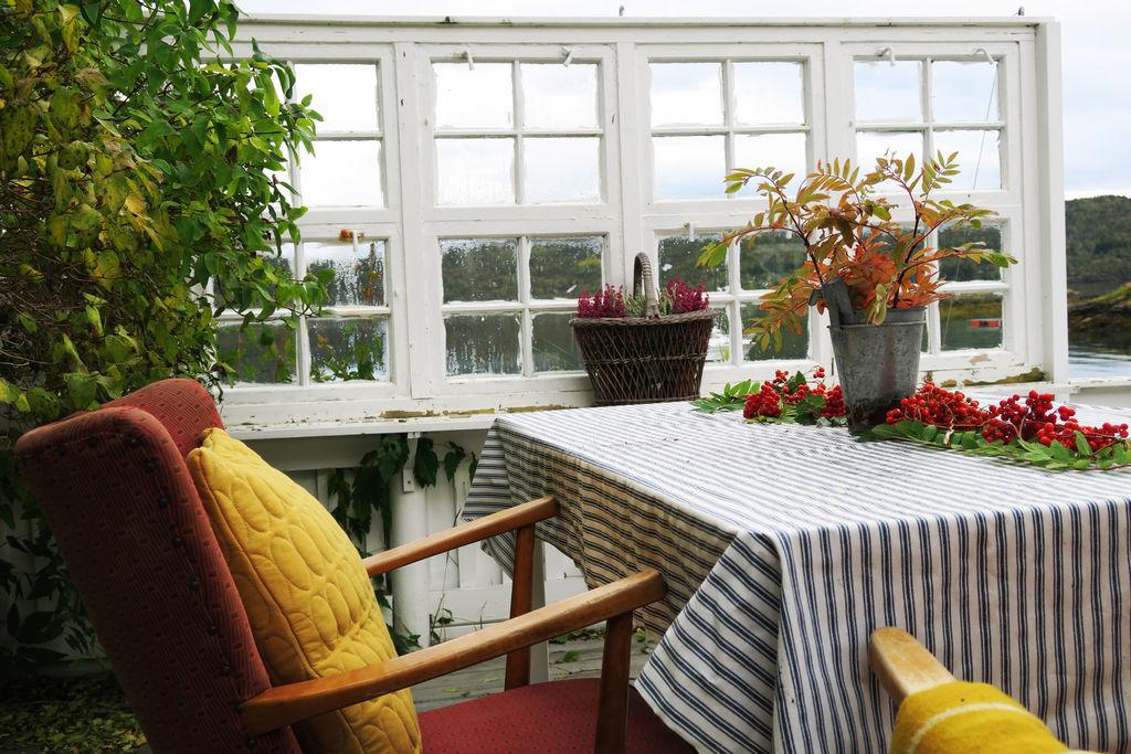 I denne saken finner du ideer til hvordan du kan dekorere enkelt og fint med rognebær og blader av rogn.